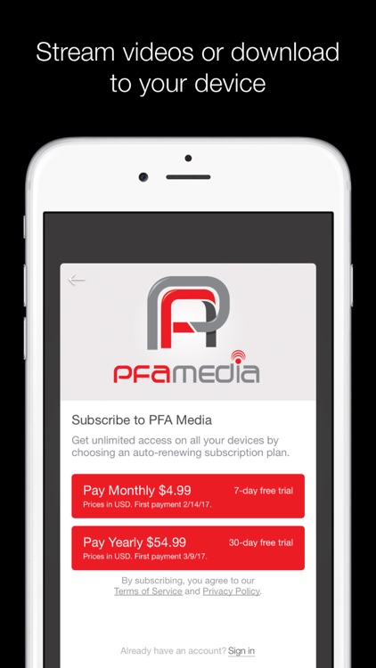 PFA Media screenshot-3