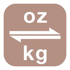 como convertir de kilogramos a onzas