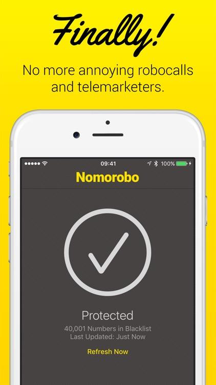 Nomorobo – Robocall Blocking app image