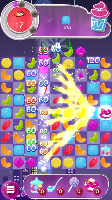 Tasty Candy Cafe: Match 3 Game