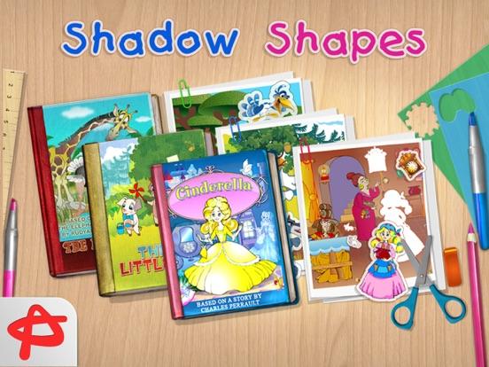 Shadow Shapes: Бесплатные Сказки и Пазлы для Детей на iPad