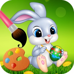 Easter bunny coloring pages for preschool