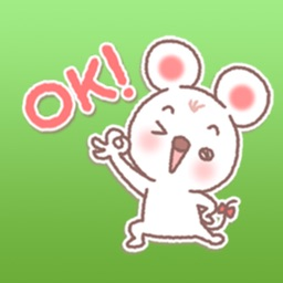 So Cute Tiny Mouse Stickers