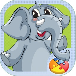 Animal Puzzle Games Kids & Toddlers Learning Free
