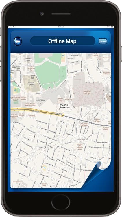 Istanbul Turkey - Offline Maps navigator Transport