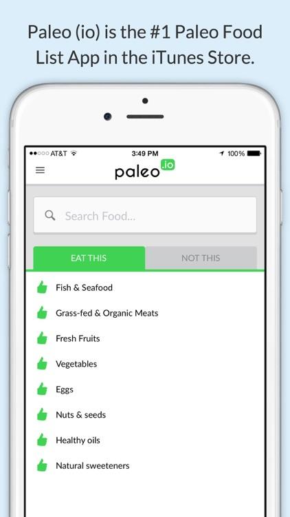 Paleo (io) – The Ultimate Paleo Diet Food List