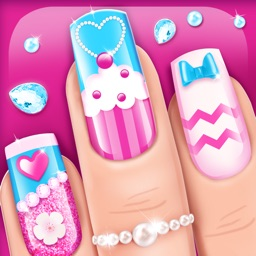 Nail Art Games for Girls: Top Star Manicure Salon