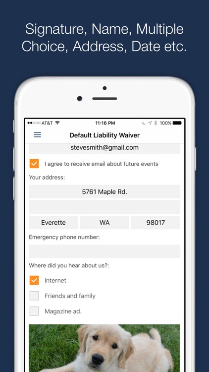 WaiverForever - The leading electronic waiver app