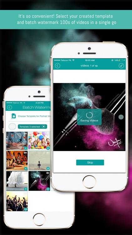 eZy Watermark - Video Watermarking App screenshot-3
