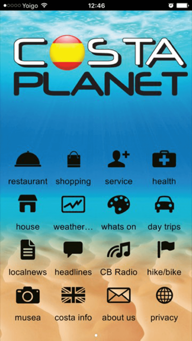 Costa Planet screenshot one