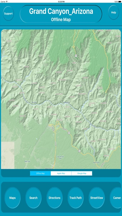 Grand Canyon Arizona Offline City Maps Navigation