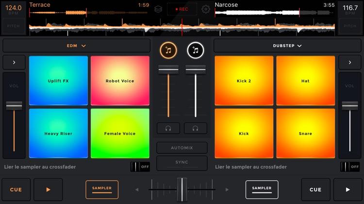 edjing Mix:DJ turntable to remix and scratch music screenshot-0