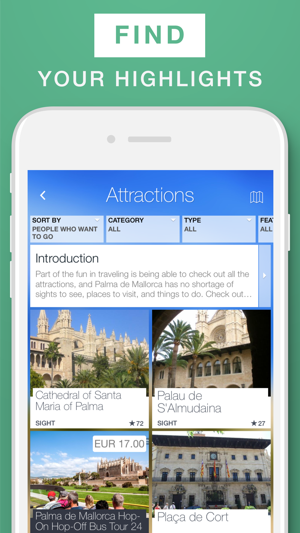 Palma de Mallorca - Travel Guide & Offline Map on the App Store