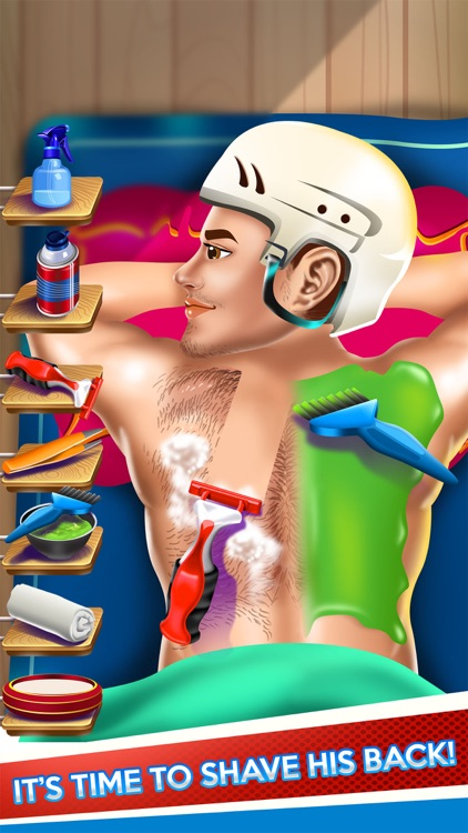 Kids Shave Doctor Salon Sports Game (Boy & Girl) screenshot-3