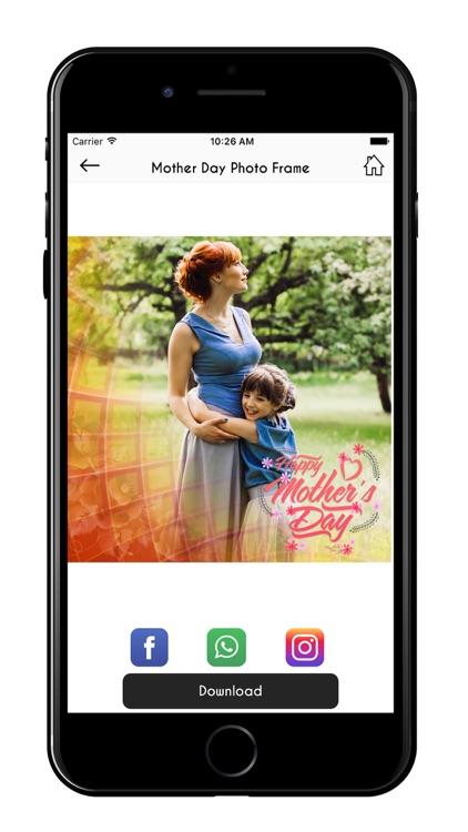 Mother's Day Photo Frames Maker screenshot-3