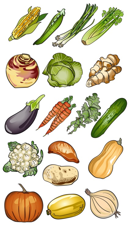 Fruit & Vegetable Stickers