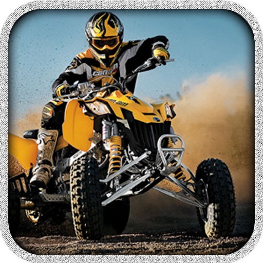 Quad Riding Mania : Cover The Distance To Win