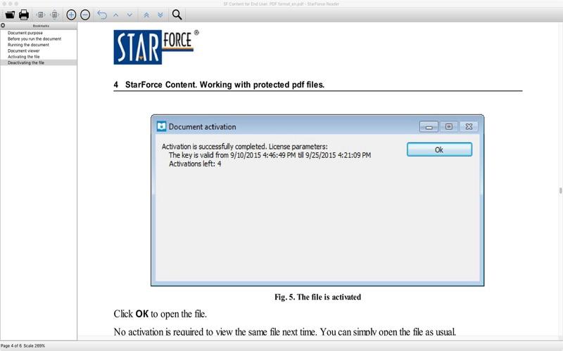 StarForce Reader скриншот программы 4