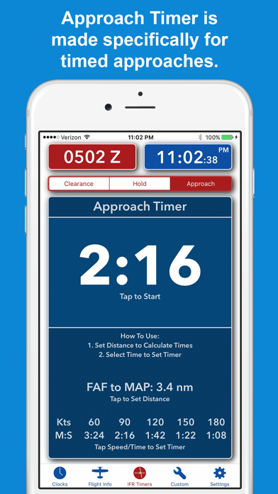 ZivTimer - Flight Timer with Zulu and World Time screenshot three