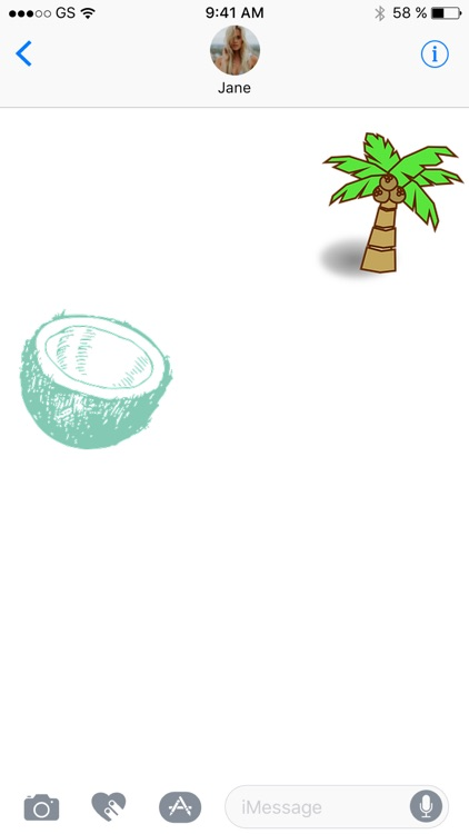 Coconut Sticker Pack!