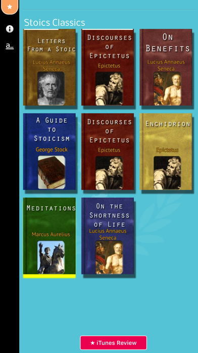 Stoic Library review screenshots