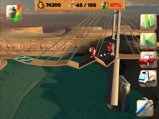 Скачать игру Bridge Constructor Playground
