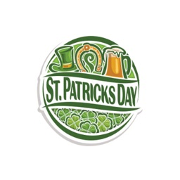 Happy St. Patrick's Day Stickers Pack