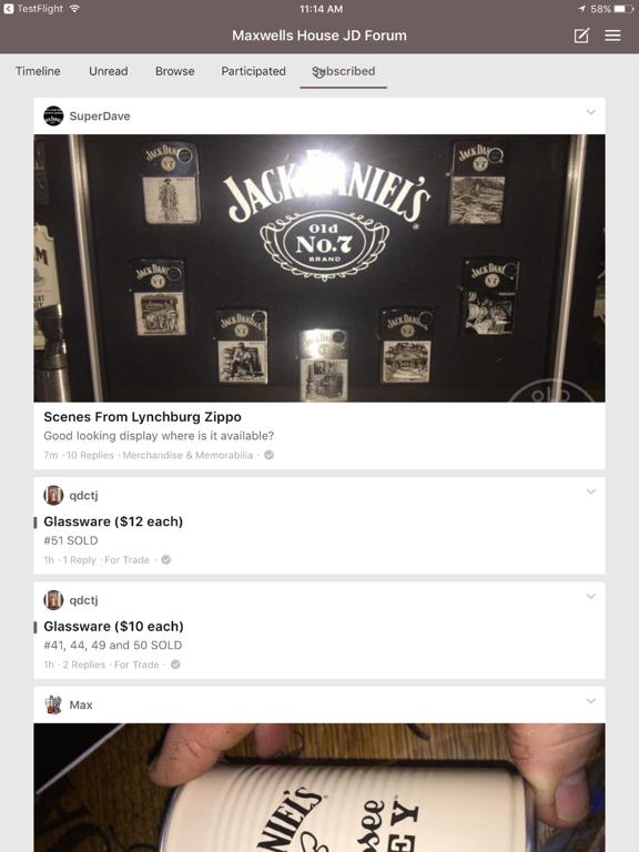 Maxwells House Jack Daniels Collectors Forum screenshot 6