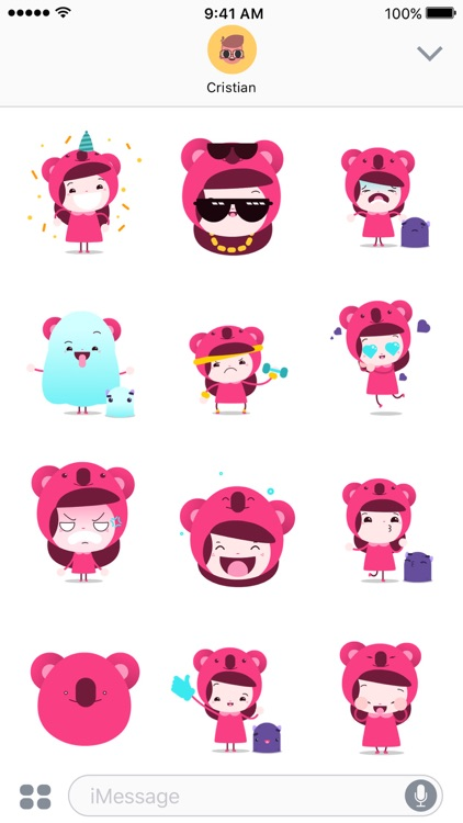 Little Channie - Animated stickers