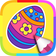 Easter Colouring Book: Coloring Pages for Kids