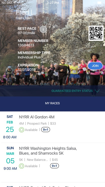 NYRR App screenshot-1