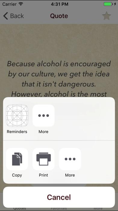 点击获取Stop Drinking Quotes
