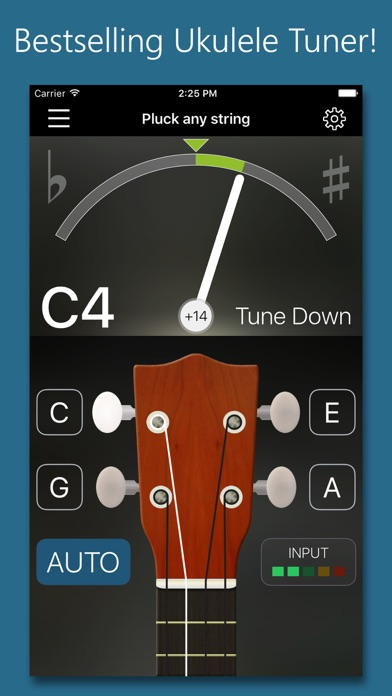 download Precision Ukulele Tuner - with Chords & Metronome apps 0