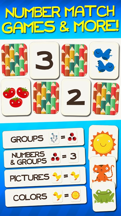 Number Games Match Fun Educational Games for Kids screenshot-0