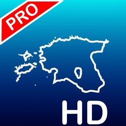 Aqua Map: Estonia - GPS Nautical charts | HD