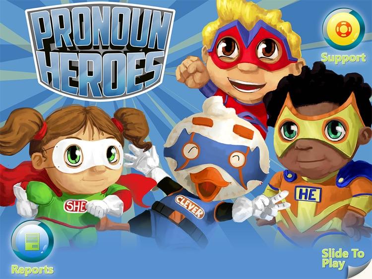 Pronoun Heroes screenshot-0