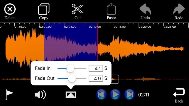 Audio Merge & Audio Cut Edit Pro screenshot-4