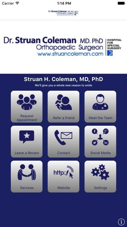 Struan H. Coleman, MD, PhD