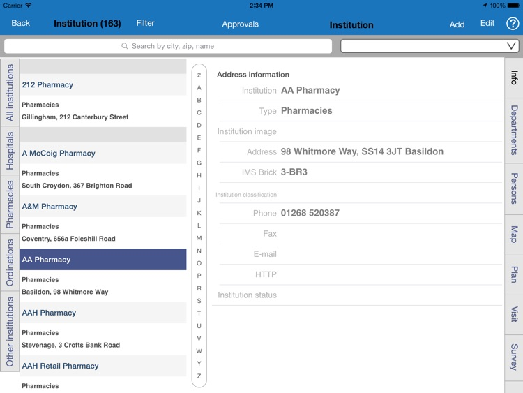 SalesVision Pharma CRM Flat screenshot-2