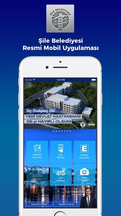 Şile Belediyesi Mobil Uygulaması-0