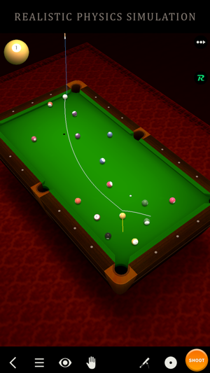‎Pool Break Lite 3D Billiards 8 Ball Snooker Carrom Screenshot
