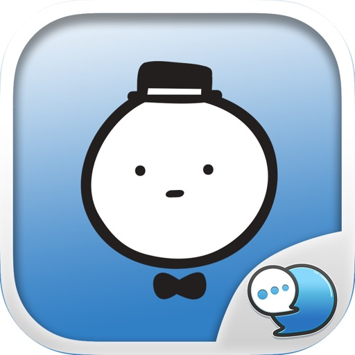 Mochi Doorman Stickers Emoji Keyboard By ChatStick