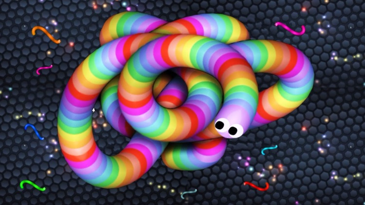 Slither Dash - Rolling Color.IO Snake Flip Game