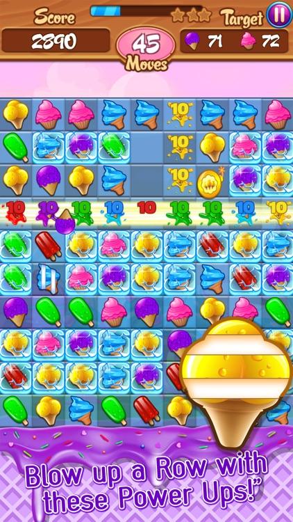 Ice Cream Frenzy: Free Match 3 Game screenshot-3