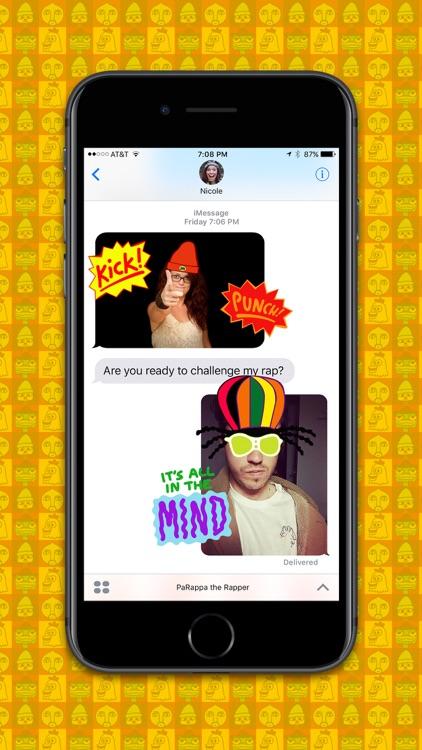 PaRappa the Rapper™ Stickers screenshot-3