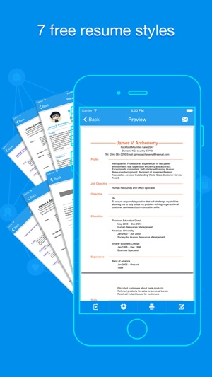 Quick Resume Pro - Resumes Builder and Designer on the App Store