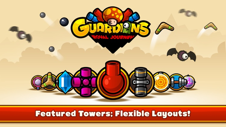 Guardians: Royal Journey - Tower Defense Game screenshot-0