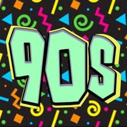 90s MOJI: Hella Rad Emojis & Stickers