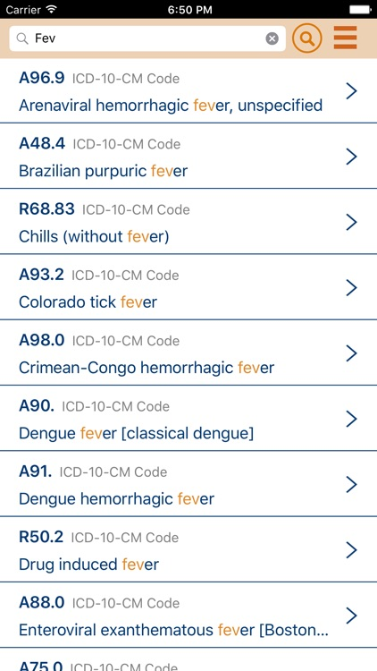 ICD-10 Reference screenshot-0