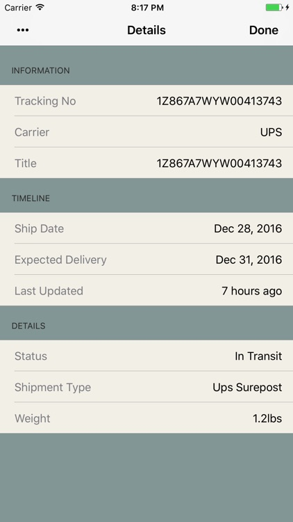 Shipments - Package Tracker screenshot-4